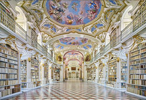 Library of the Admont Benedictine Abbey, Austria