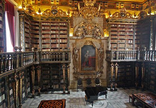 Biblioteca Geral University of Coimbra, Portugal