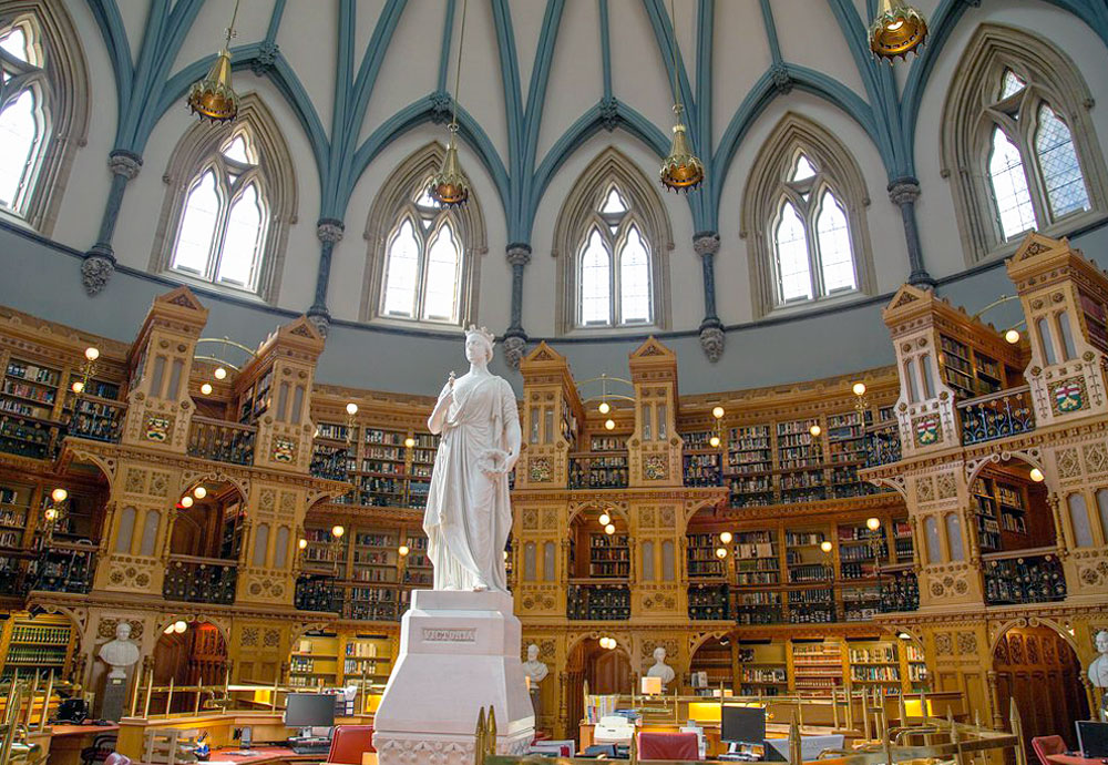 Library of Parliment, Ottawa, ON, Canada