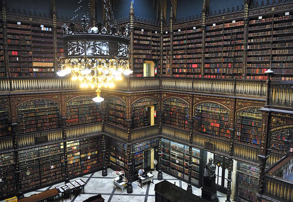 Real Gabinete Português de Leitura, Rio de Janeiro, RJ, Brazil