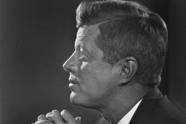 John F Kennedy portrait by Yousuf Karsh, 1960